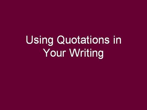 using quotes in an essay powerpoint Can be used alongside how to write an essay analogy of a burger how to use quotations effectively 43 21 customer reviews prepared by created by kts1966 preview powerpoint presentation using analogy of a burger.