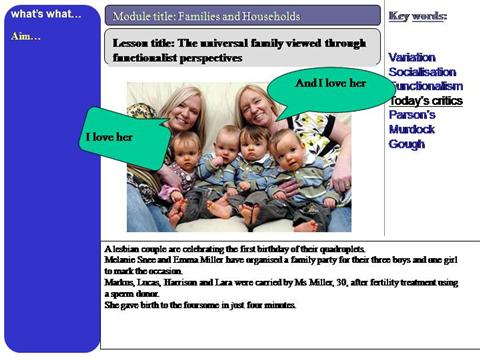 functionalist and the family The functionalist definition of the family includes a set of definitions that various functionalists have stated on the family in general, these definitions focus on the relationship between the family and the society and the functions of different family members, and how the family helps its.