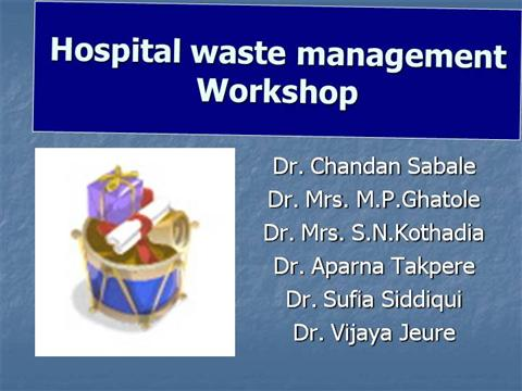 Hospital Waste Management Authorstream