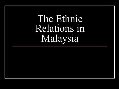 national unity and integration in malaysia-essay Unity and integration should promote co-operation between race, beliefs and region as one malaysia, not as sarawakian or sabahan the trust and aspiration of the people that 1malaysia will bring about a greater nation must not be hampered therefore, the government will have to deliver on all its promises the concept.