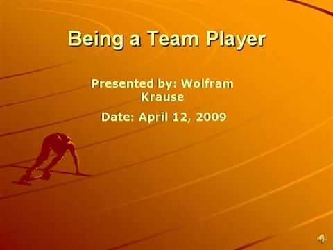 being a team player Are you a team player you'll hear that question in pretty much every interview you'll ever participate in that's probably because working on a team is crucial to nearly much every position, from entry level to director here are some points to consider and the best ways to answer add value.