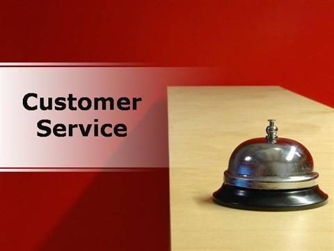 Customer service presentation pdf