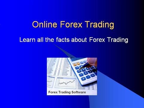 Online forex trading business