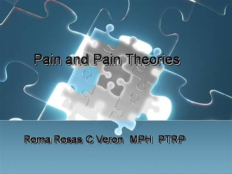 marion good & shirley moore acute pain management theory