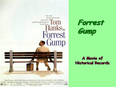 an analysis of historical accuracy of forrest gump Introduction forrest gump is a film that defies the conventions of filmmaking, and in that sense it is difficult to do a typical analysis of the film it's not so much that the film is overly complicated or that reality is always in question or any art house tricks of that kind it's just that gump doesn't really follow any rules.