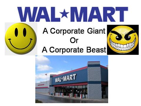 case study wal martstores in 2003 The wal-mart you don't know who is leading a yearlong study of how to do business with wal-mart a&p had five times the number of stores wal-mart has now.