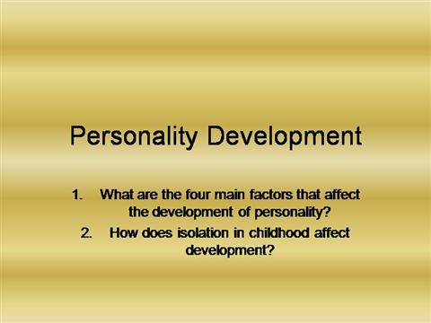factors that affect development essay Affective factors influence classroom learning social psychologists warn us factors and classes of variables affecting classroom learning.