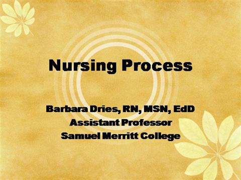 decision making process in the nursing profession Nursing practice and decision-making competency point of entry: works within the code (nmc,2015) and in keeping with guidance on professional conduct for nursing and midwifery students is competent in the process of medication-related calculation in nursing field involving.