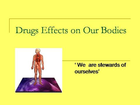 the effects of drugs on our Search harvard health  but studies are showing adverse effects on aquatic life drug  chemicals also get into the water from the drugs we use our bodies.