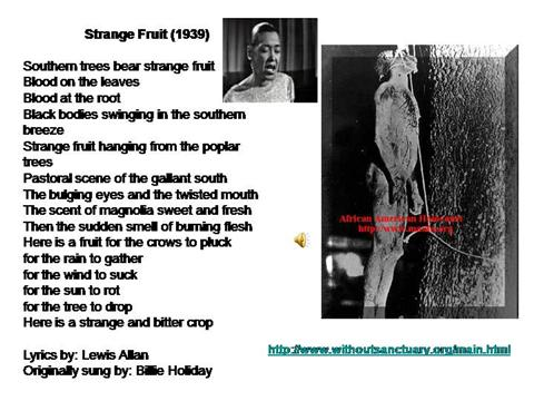 the lynching by claude mckay When claude mckay was writing his poetry, free verse was seen as new and exciting, and many of his peers were writing their poems in this form however, mckay purposely chose to do the opposite and return to older, more traditional forms for his poetry the rigid sonnet forms that mckay was utilizing were almost the.