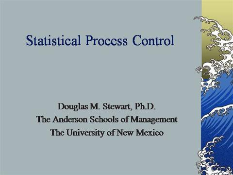 statistical process control of activities in daily Laboratory quality control qc workbook basic lessons in laboratory quality control written by  quality control system using statistical process control statistical process control is a set of rules  and abnormal controls for each test at least daily to monitor the analytical process if the test is.