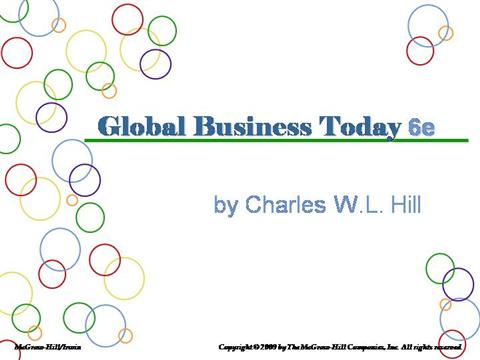 global business today charles hill pdf