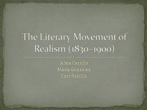 an introduction to the literary realism in editha What is the difference between realism and naturalism – realism is depicting life as it is  to understand more how naturalism works in literary forms, .
