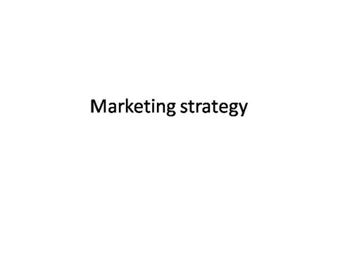 1 Marketing Strategy Ramaswamy Authorstream