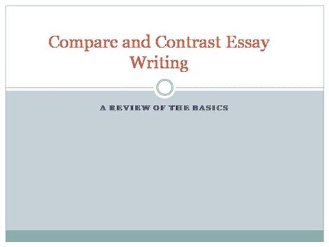 compare contrast writing essays going dentist