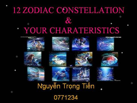 12 zodiac signs and its characteristics authorstream zodiac signs toneelgroepblik Gallery