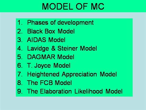 dagmar model slideshare