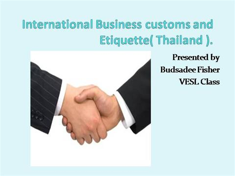thailand business culture Contact the ukti team in thailand for more information and advice on opportunities for doing business in thailand exporting to thailand guide contents is this page useful.