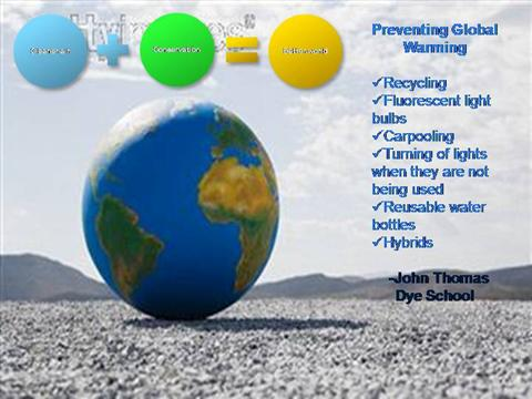 prevention of global warming