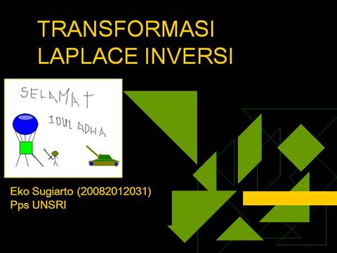 transformasi laplace inversi ppt presentation