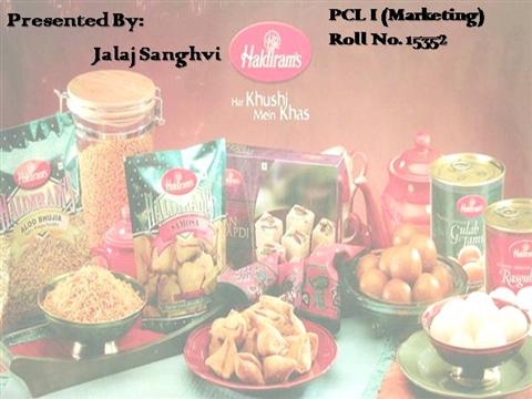 marketing mix of haldiram 22 haldiram's marketing mix for namkeen, it was decided earlier that they have to market this product as a branded product and sell it all over the world because at that time in 1992, no branded namkeen as such was there anywhere in the country.