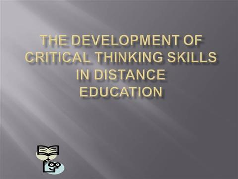 critical thinking in education ppt Download pre-designed templates on critical thinking with attractive & creative slide designs that you can use to make presentations on critical thinking topics.