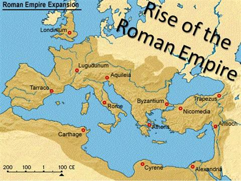 essay on the rise of the roman empire