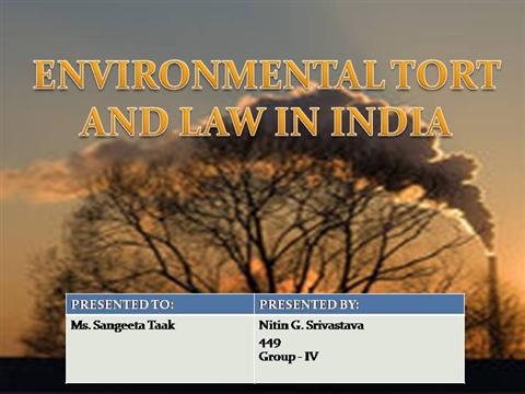 Environmental Law Notes and Study Material - Legal Bites