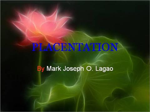 Placentation in plants ppt