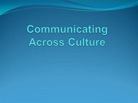 intercultural communications 3 essay Blocks of intercultural communication essay sample in society there are four building blocks of intercultural communication they are culture, communication, context, and power.