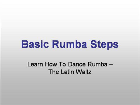 on Basic Dance Steps Diagrams