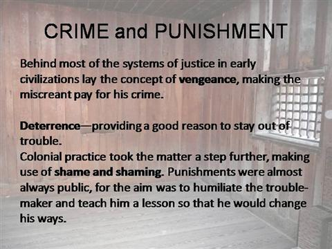 nihilism in crime and punishment essay Crime and punishment essay crime and punishment criminology rawphina maynor mr arata saturday am crime and punishment through time has made some dramatic changes the earliest form of written code is the babylonian code of hammurabi, though most of western law comes from ancient rome.