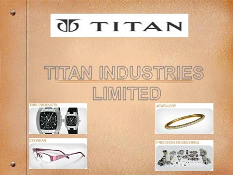 titan industries limited Titan industries is a privately held company in alexandria, pa and is a single location business categorized under industrial equipment services.