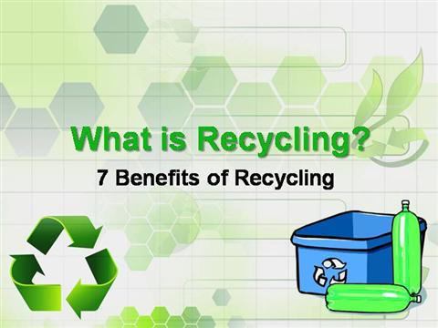 essay about recycling benefits