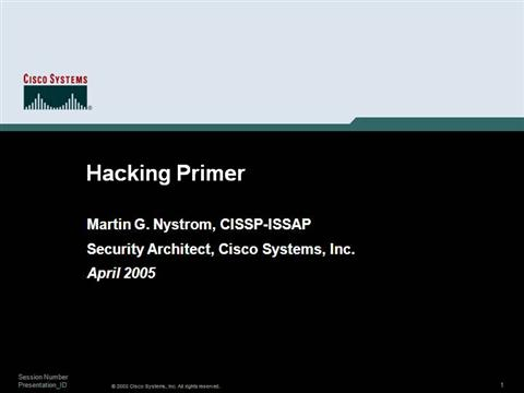 PPT Computer Hacking And IT Security PowerPoint presentation
