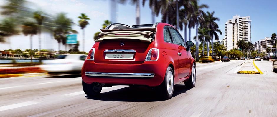 Fiat 500 Cabriolet har bedste økonomi