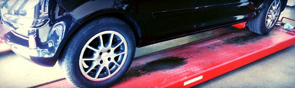 Opel Corsa på bilværksted