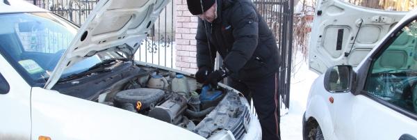 Batteriet strejkar på vintern