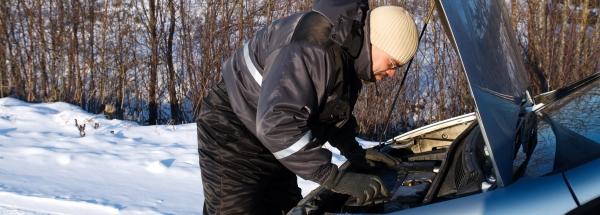 vinterklargøring af bil
