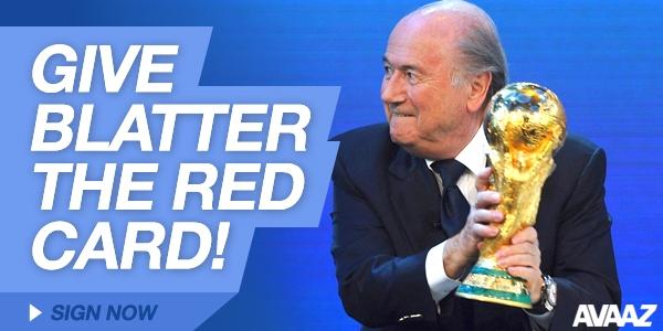 Rote Karte für Blatter - noch 24 Stunden!