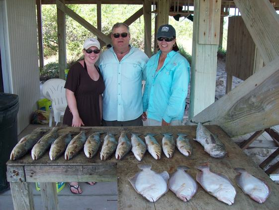 4 and 5 pound Speckled Trout from St Joseph Bay May 2012