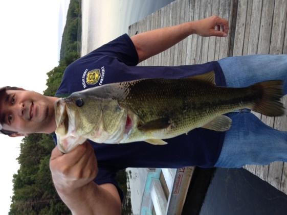 Wawayanda dock fishing!