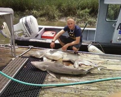 Brian Allshouse Welcome to Inshore Shark-ville! &lt;br&gt;&lt;br&gt;&lt;br&gt;CAPTAIN JUDY HELMEY&lt;br&gt;www.missjudycharters.com&lt;br&gt;