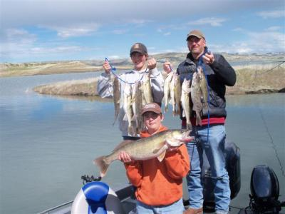 Trophy Fishing & Hunting<br>Marvin & Connie Loomis<br>3223 Brusett RD<br>Brusett, Montana 59318
