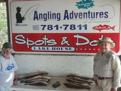 Captain Mike Gallo<br>Angling Adventures of Louisiana, LLC<br>www.AAofLA.com<br>