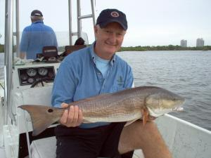 This 30 inch bull red was caught on shrimp and released in Estero Bay, Bonita Beach, SW FL on 11-10-09.