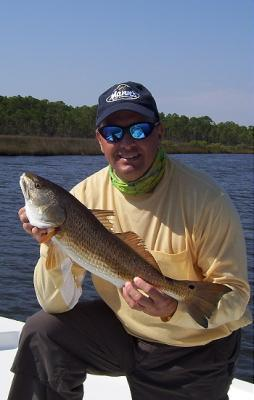 Slot redfish caught in Blackwater Bay <br><br><br>Capt. John Rivers <br>Mega-Bite Inshore Charters <br>850-341-9816<br>www.megabiteinshore.com