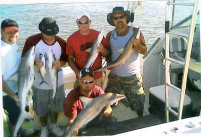 Dominator Fishing Charters<br>Captain Bill McDonnell <br>william7218@yahoo.com <br>228-392-8410 <br>www.fishdominator.com