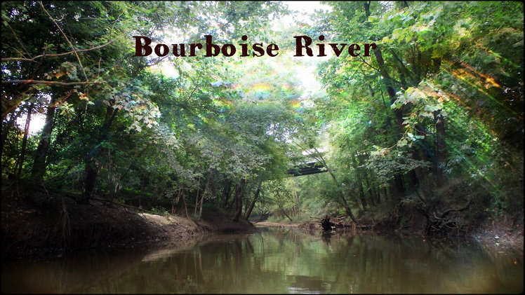Bourbeuse river in Union Mo.