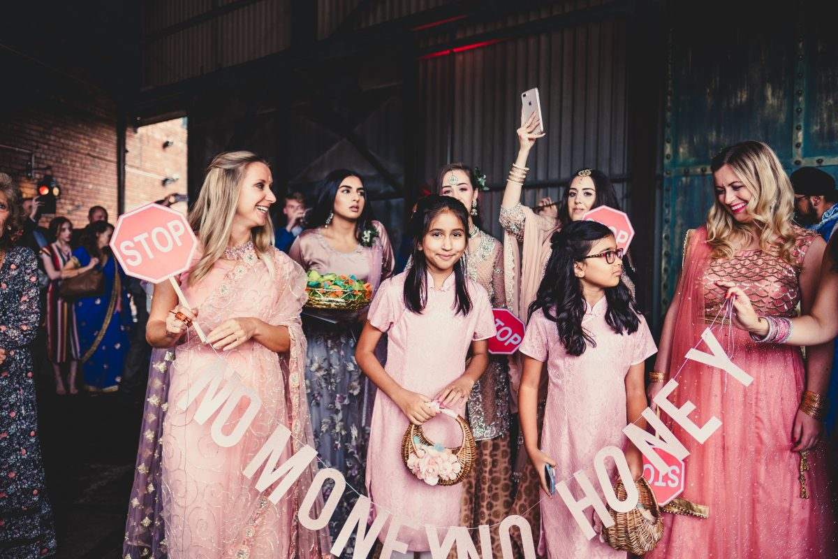 VICTORIA WAREHOUSE ASIAN WEDDING PHOTOGRAPHY, MANCHESTER WEDDING PHOTOGRAPHER, MANCHESTER WEDDING PHOTOGRAPHY, VICTORIA WAREHOUSE WEDDING PHOTOGRAPHER, VICTORIA WAREHOUSE WEDDING, ASIAN WEDDING PHOTOGRAPHER, MANCHESTER ASIAN WEDDING PHOTOGRAPHER, ASIAN FUSION WEDDING PHOTOGRAPHY, AYESHA PHOTOGRAPHY, BRIDESMAIDS WAITING FOR THE GROOM AT AN ASIAN WEDDING